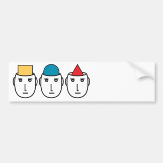 oppinion diversity bumper sticker