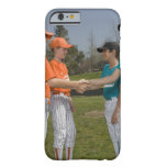 Opponents shaking hands barely there iPhone 6 case
