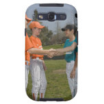 Opponents shaking hands samsung galaxy SIII case