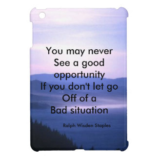 Opportunities and bad situation iPad mini case