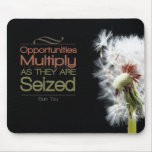 Opportunities Multiply Motivational Mousepad