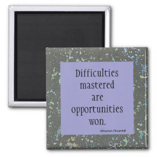 opportunity 2 inch square magnet