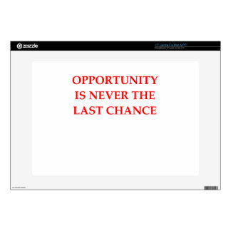 """OPPORTUNITY DECALS FOR 15"""" LAPTOPS"""
