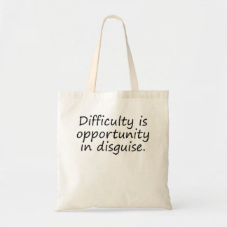 Opportunity In Disguise Bag