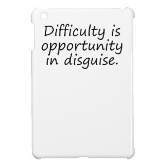 Opportunity In Disguise iPad Mini Cover