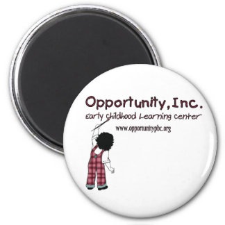 Opportunity, Inc. 2-1/4 inch round magnet