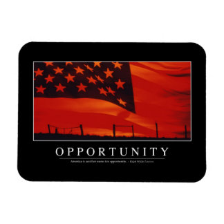 Opportunity: Inspirational Quote Magnet
