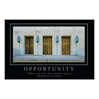 Opportunity Posters