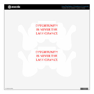 OPPORTUNITY PS3 CONTROLLER DECAL