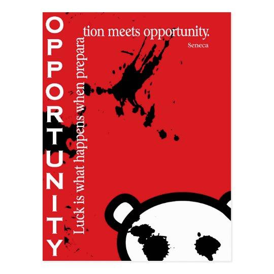 Opportunity ~ Seneca Postcard