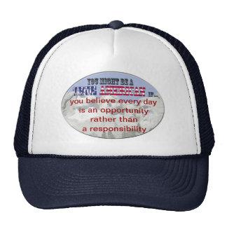 opportunity trucker hat