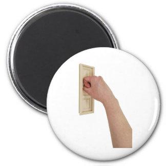 OpportunityKnocks0319091 2 Inch Round Magnet