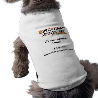 Opposable Thumbs Tank for Doggies Shirt