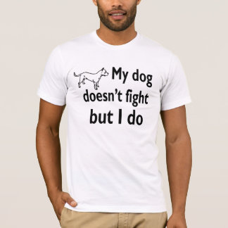 Oppose dog fighting love dogs T-Shirt