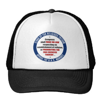 Oppose The HHS Mandate Mesh Hat