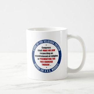 Oppose The HHS Mandate Mug