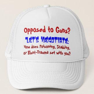 Opposed to Guns? Trucker Hat