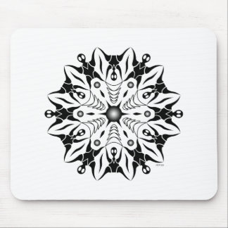 Opposing Positions Mouse Pad
