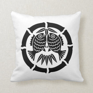 Opposite it is inside the bamboo of eight throw pillow