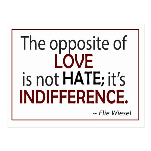 elie wiesel the perils of indifference thesis