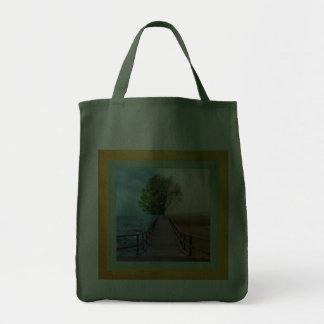 Opposite Views Tote Bag