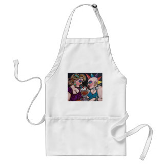 Opposites Attract Adult Apron