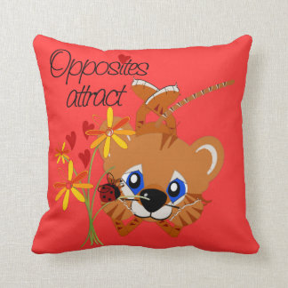 Opposites Attract American MoJo Pillows
