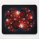 Opposites Attract - Fractal Art Mouse Pad