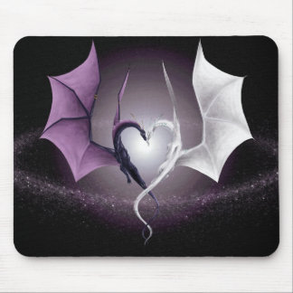 Opposites Attract Mouse Pad