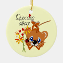 tiger, tigers, ornament, romance, romantice, wedding, romantic, Ornament with custom graphic design