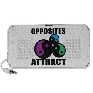 Opposites Attract iPhone Speaker