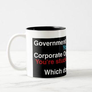 oppression mug