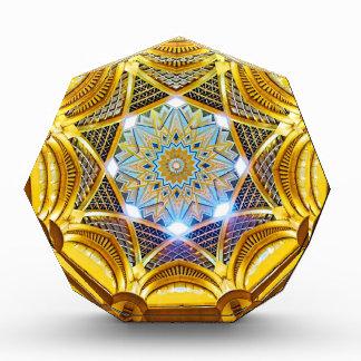 Oppulent Dome of the Emirates Palace Hotel Award