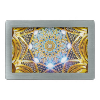 Oppulent Dome of the Emirates Palace Hotel Belt Buckles