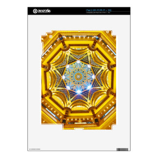 Oppulent Dome of the Emirates Palace Hotel Decal For The iPad 2