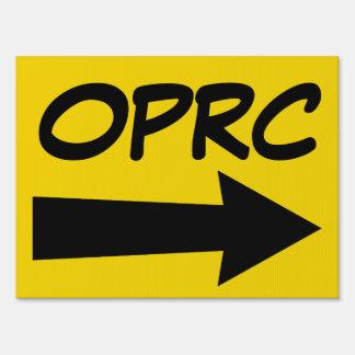 OPRC Event Sign