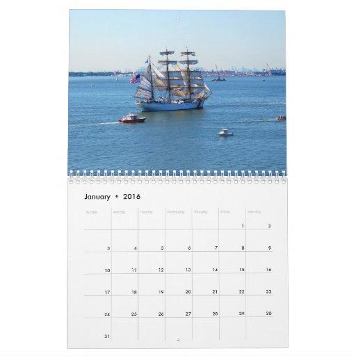 OpSail Norfolk 2013 Calendar