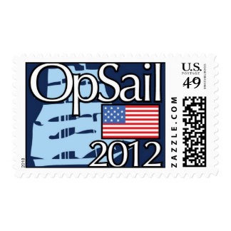 OpSail Postage Stamp