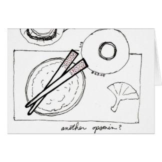 Opsonin (chopsticks) card