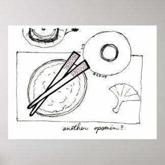 Opsonin (chopsticks) print