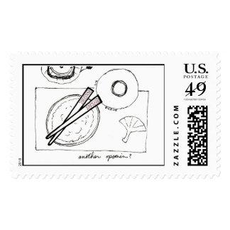 Opsonin (chopsticks) stamp