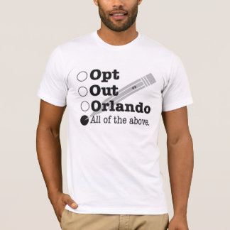 Opt Out Orlando - Civil Disobedience T-Shirt