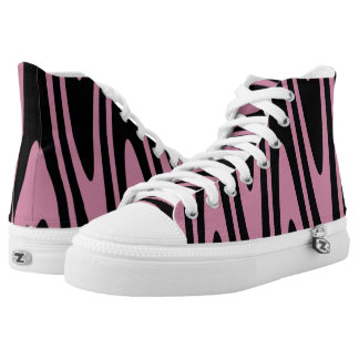 Opt-Swag Black & Cashmere Rose High Tops