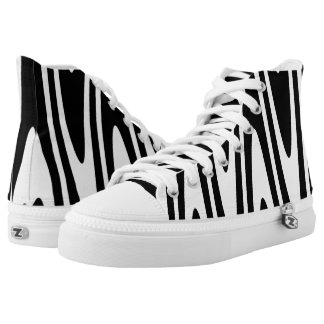 Opt-Swag Black & White High Tops