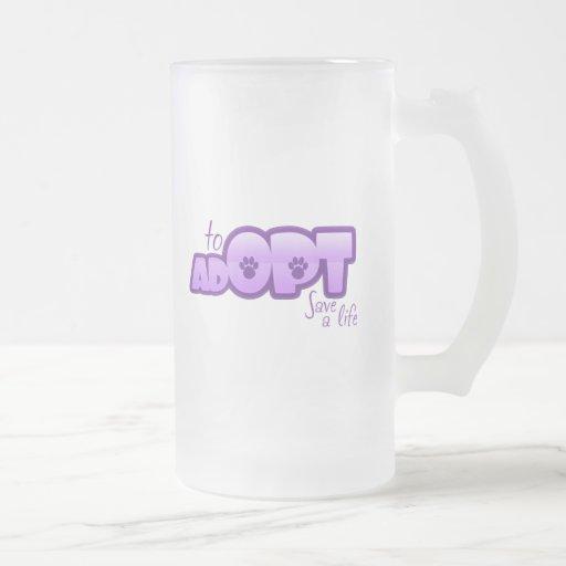 Opt To Adopt Mugs