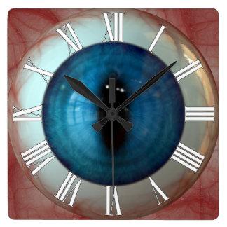 Opthalmologist Eye Doctor Weird Fun Blue Eye Clock