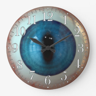 Opthalmologist Eye Doctor Weird Fun Blue Eye Clock