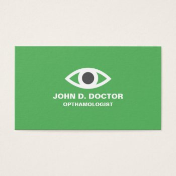 Browse products at zazzle with the theme optometrists business cards opthamologist or optometrist green business card colourmoves