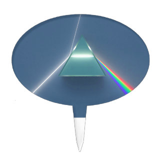 Optic Prism Refracting and Reflecting Light Cake Pick