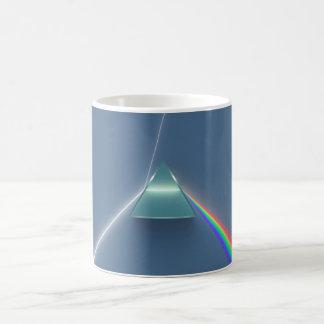 Optic Prism Refracting and Reflecting Light Coffee Mug